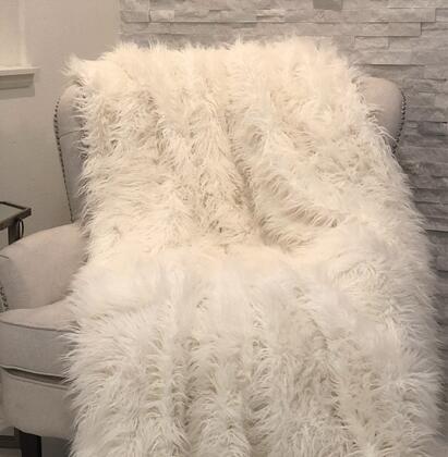 Plutus Brands Mongolian Fur PBSF1421108X90T Sofa Accessory, PBSF1421