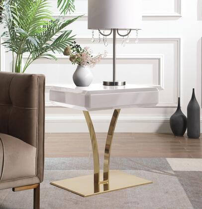 Chic Home Shenae FST2944AC End Table Beige, FST2944-AC lifestyle