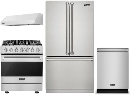 Viking  1310520 Kitchen Appliance Package Stainless Steel, Main Image