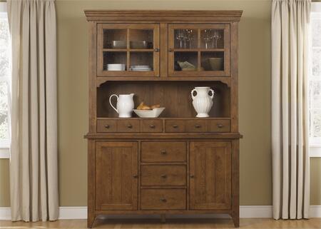 Liberty Furniture Hearthstone 382DRHB China Cabinet Brown, Main Image