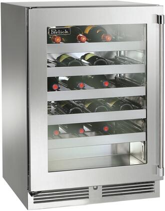 Perlick Signature HP24WS43L Wine Cooler 26-50 Bottles Stainless Steel, Main Image