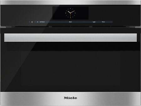 Miele M Touch DGC68051XL Single Wall Oven Stainless Steel, Main Image