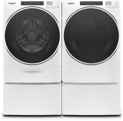 Whirlpool  979022 Washer & Dryer Set White, Main Image