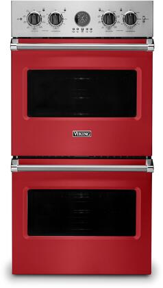 Viking 5 Series VDOE527SM Double Wall Oven Red, VDOE527SM Electric Double Wall Oven
