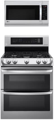 LG  1311161 Kitchen Appliance Package Stainless Steel, Main image
