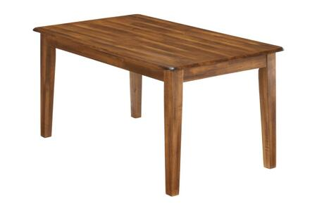 Ashley Berringer D19925 Dining Room Table Brown, Angle View