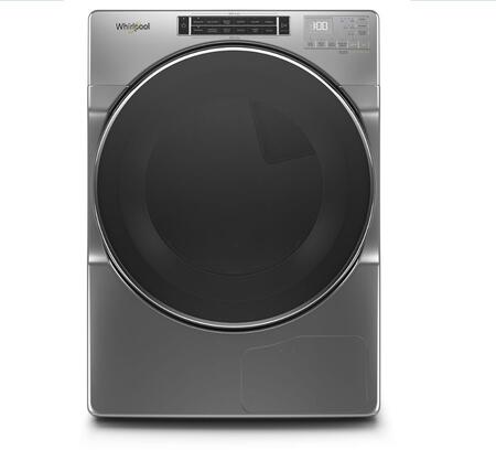 Whirlpool  WHD862CHC Electric Dryer Chrome, 1