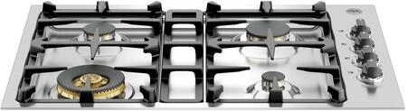Bertazzoni Master QB30M400XLP Gas Cooktop Stainless Steel, Cooktop