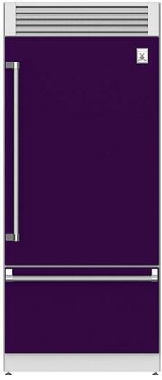 Hestan  KRPR36PP Bottom Freezer Refrigerator Purple, Main Image
