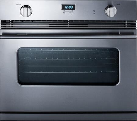 Summit  SGWO30SS Single Wall Oven Stainless Steel, Main Image
