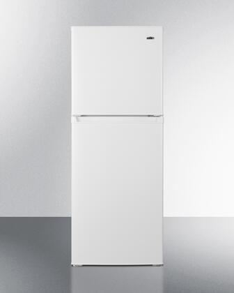 Summit  FF82W Top Freezer Refrigerator White, FF82W Top Freezer Refrigerator