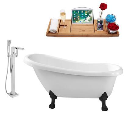 Streamline NH480BL100 Bath Tub, NH480BL 100 1T