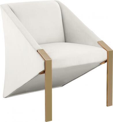 Meridian Rivet 593CHAIR Accent Chair, 1