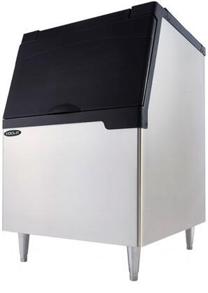 KB-440 30″ Ice Bin with 442 lbs. Ice Storage Capacity  Urethane Insulation and Ergonomic Door Design in Stainless