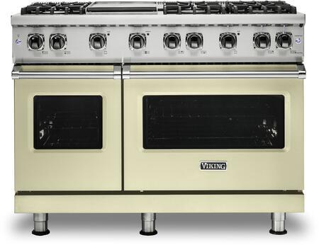 Viking 5 Series VGR5486GVC Freestanding Gas Range Bisque, VGR5486GVC Gas Range