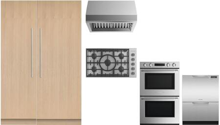 Fisher Paykel  969716 Kitchen Appliance Package , Main Image