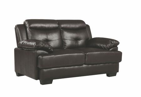 Glory Furniture G480 G488L Loveseat Brown, 1