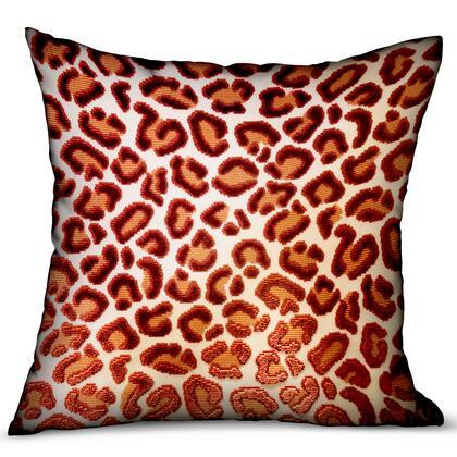 Plutus Brands Emberglow Velvet Cheetah PBRA23482020DP Pillow, PBRA2348