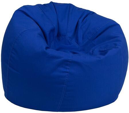 Flash Furniture DGBEAN DGBEANSMALLSOLIDROYBLGG Bean Bag Chair Blue, DGBEANSMALLSOLIDROYBLGG