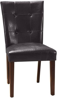 Myco Furniture Crescent CR4274SBRN Dining Room Chair Brown, 1