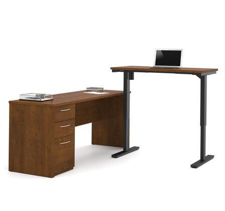 Bestar Furniture Embassy 6088563 Office Desk Brown, Main Image