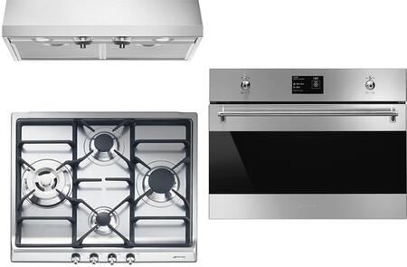 Smeg 890407 Kitchen Appliance Package & Bundle Stainless Steel, 1