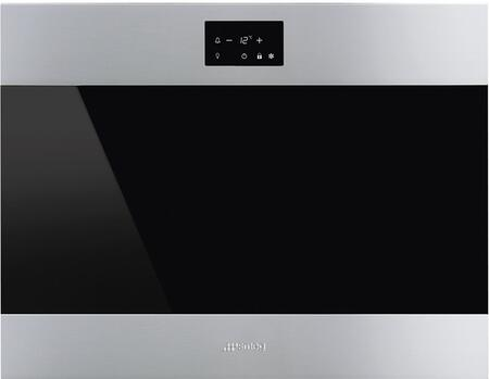 Smeg  CVIU318LX Wine Cooler 25 Bottles and Under Stainless Steel, CVIU318LX Main Image