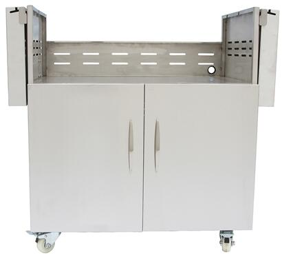 Coyote C1S36CT Grill Cart Stainless Steel, Main Image