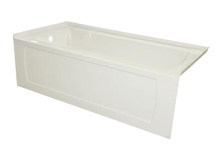 Valley Acrylic Signature Collection OVO6030SKDFLBIS Bath Tub, Main Image