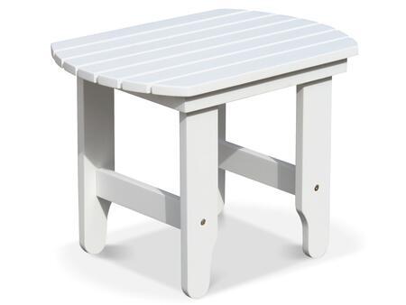Douglas Nance Adirondack DN1503W Outdoor Patio Table White, DN1503W Main Image