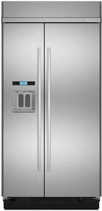 Jenn-Air  JS42SSDUDE Side-By-Side Refrigerator Stainless Steel, Main Image