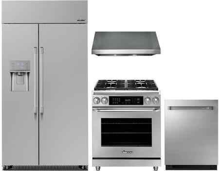Dacor  1056911 Kitchen Appliance Package Stainless Steel, main image