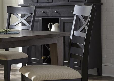 Liberty Furniture Hearthstone 482SR5074 Dining Room Buffet Black, Main Image