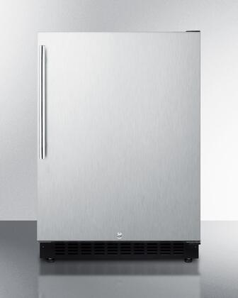 Summit  AL54SSHV Compact Refrigerator Stainless Steel, Main Image