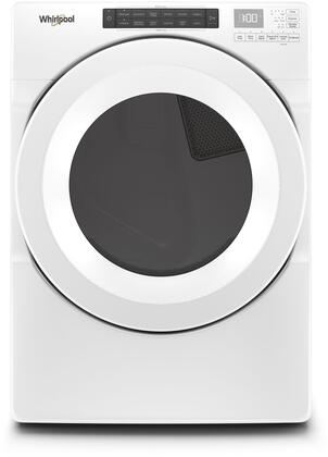 Whirlpool  WED5620HW Electric Dryer White, Main Image