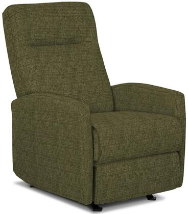 Arnold Collection 6SI04-18701 Recliner with High Tufted Backrest  Kiln Dried Hardwood Frame  Hidden Recline Handle  Sculpted Arm Design  Made in USA