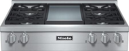 Miele  KMR11361GDLP Gas Cooktop Stainless Steel, 1