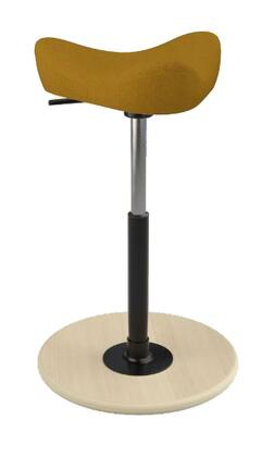 Varier Move Small MOVESMALL2700HALLINGDALE526NATHIBLK Office Stool, Main Image