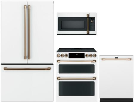 Cafe Customizable Professional Collection 1066885 Kitchen Appliance Package White, main image