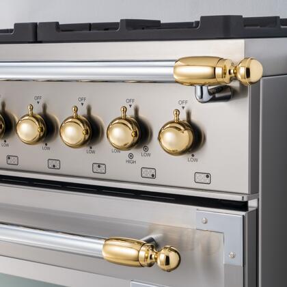 Bertazzoni  DS1HERTGO Other Range Accessories , DS1HERTGO Gold Decor Set