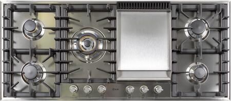 Ilve UHP125FCI Gas Cooktop Stainless Steel, UHP125FC Gas Cooktop