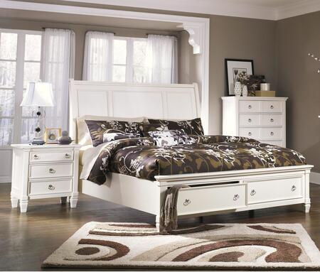 Millennium Prentice B672QSBEDROOMSET Bedroom Set White, Main Image
