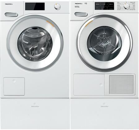 Miele Classic 1005771 Washer & Dryer Set White, Main Image