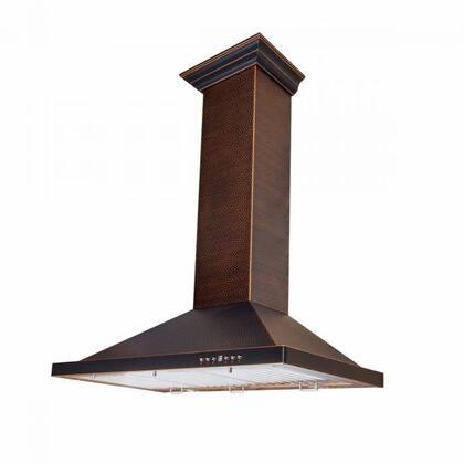 ZLINE Designer 8KBH30 Wall Mount Range Hood Copper, Main Image