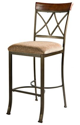 Powell Hamilton 697432 Bar Stool Brown, Main Image