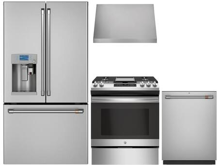 Cafe  1067645 Kitchen Appliance Package Stainless Steel, main image