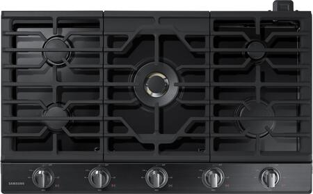 "Samsung NA36N7755TG 36"" Black Stainless 5 Burner Gas Cooktop"