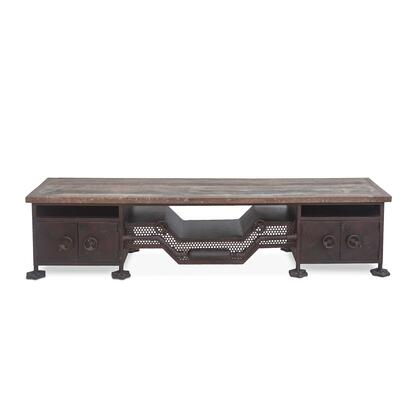 World Interiors Welles ZWSESB74L Dining Room Buffet Gray, ZWSESB74L