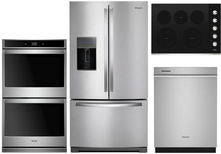 Whirlpool  1010014 Kitchen Appliance Package Stainless Steel, main image