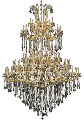 Elegant Lighting 2801G96GGTSS Chandelier, Image 1